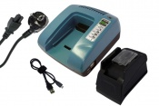 Power Tools Battery Charger for MAKITA 194204-5, 194205-3, 194309-1, BL1815, BL1830, BL1835, LXT400, 194337-6,194338-4, 194534-4, 195585-0, DC18RA, DC18RB, DC18RC, DC18SC, DC18SD, DC18SE, BL1840, XRU02Z
